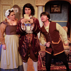 """THE HEIR APPARENT"" – Scripps Ranch Theatre"
