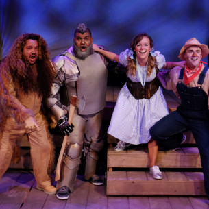 """""""OZ, A NEW AMERICAN MUSICAL FAIRYTALE"""" – Lamb's Players Theatre"""