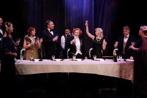 """DINNER WITH MARLENE"" at Lamb's Players Theatre"