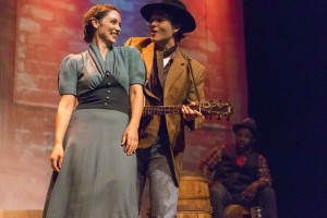 """WOODY GUTHRIE'S AMERICAN SONG"" from Intrepid Theatre"