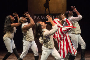 """SPAMILTON"" at the Kirk Douglas Theatre in Los Angeles"