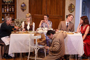 """HOW THE OTHER HALF LOVES"" at North Coast Repertory Theatre"