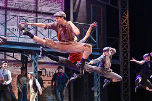 """DISNEY'S NEWSIES"" at Moonlight Stage Productions"