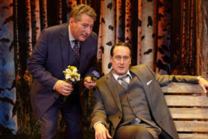 """""""A WALK IN THE WOODS"""" at North Coast Repertory Theatre"""