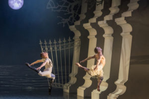 """MATTHEW BOURNE'S SWAN LAKE"" at the Ahmanson Theatre, L.A."