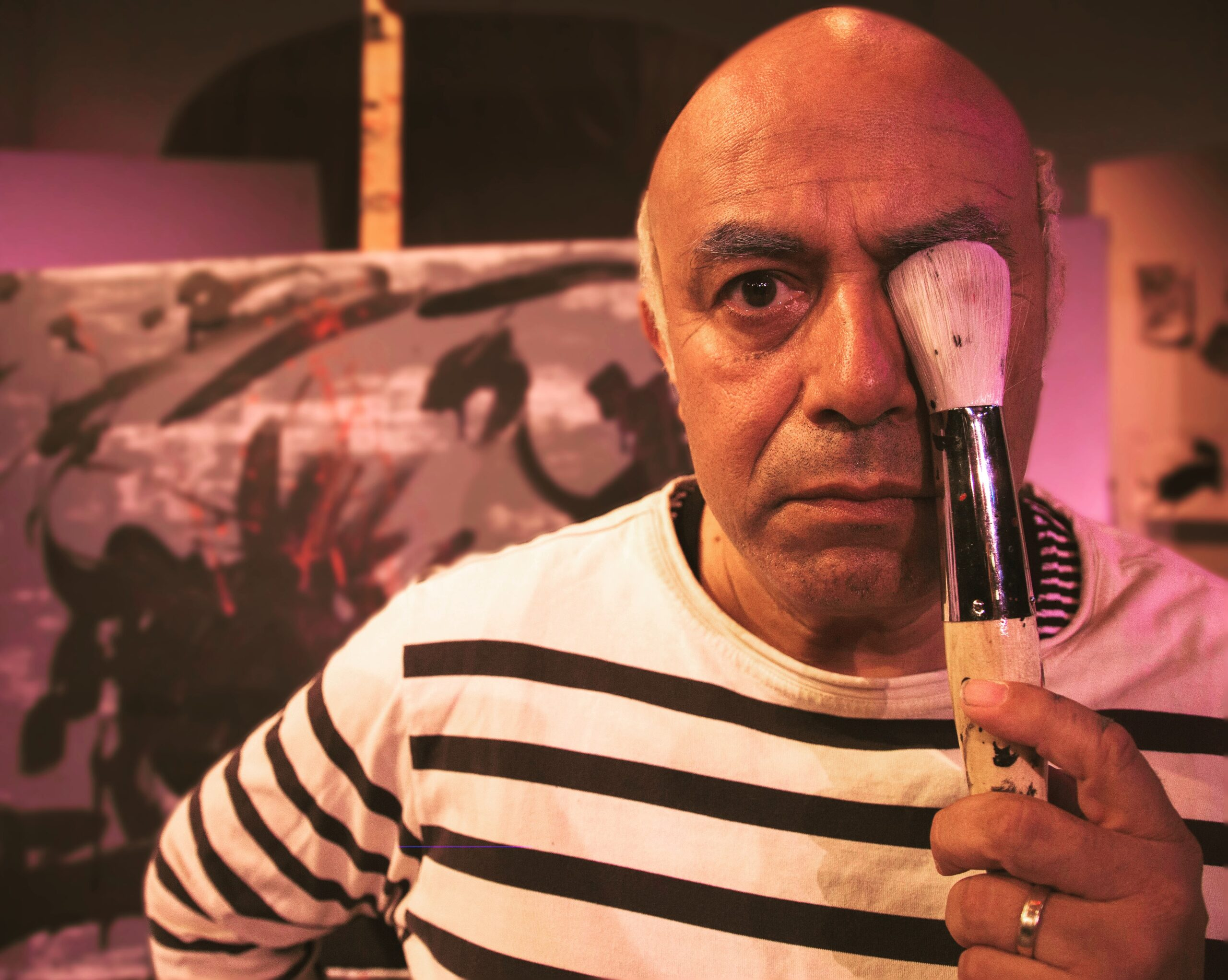 "FEATURE: SAN DIEGO REP'S STAGE-TO-SCREEN ADAPTATION OF ""A WEEKEND WITH PABLO PICASSO"""