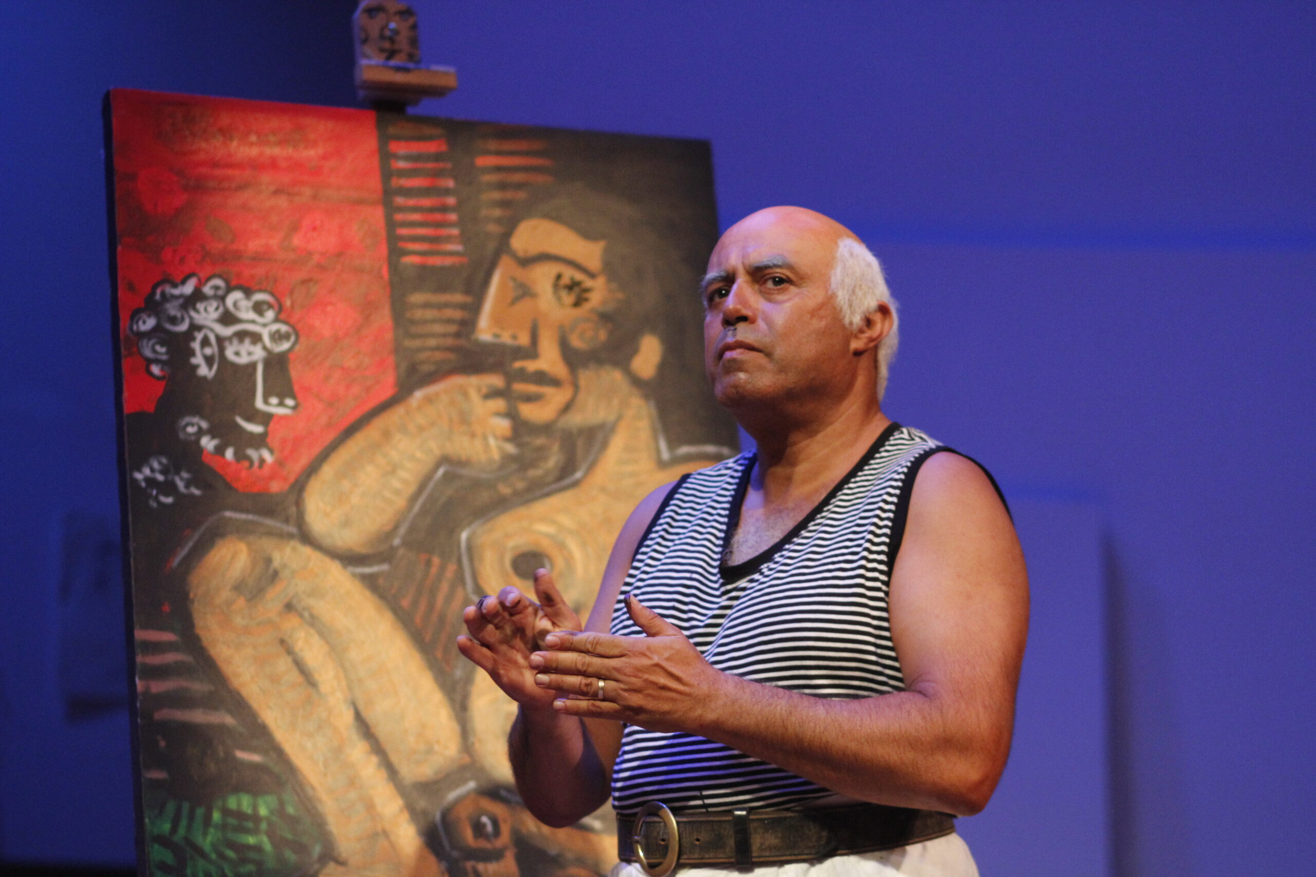 FEATURE: Pablo Picasso Comes to Life in a Pandemic-fueled stage-to-screen adaptation