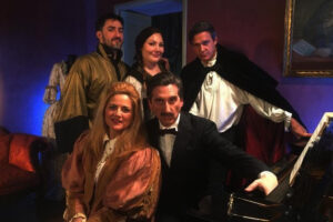 """""""HERSHEY FELDER, PUCCINI"""" streaming from Italy via San Diego Repertory Theatre"""